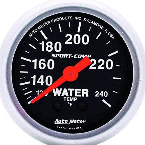 Auto Meter 3332 Water Temperature Gauge by AUTO METER