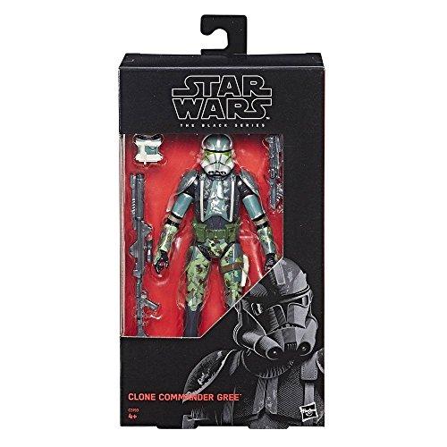 Commander Gree Star - Hasbro Star Wars Episode III Black Series Action Figure Clone Commander Gree 2017 Exclu