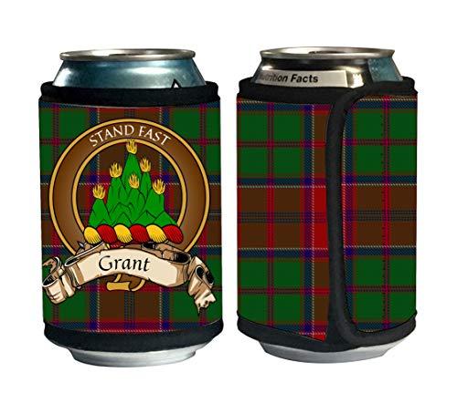 Scottish Beer (Grant Scottish Clan Tartan Beer Can Cozies, Can Cooler)