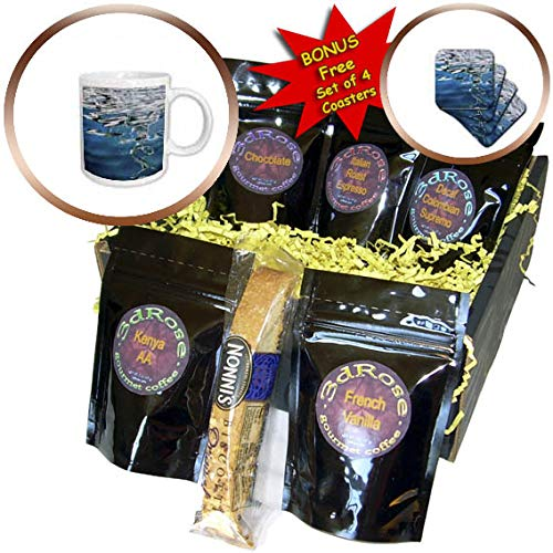3dRose Danita Delimont - Abstracts - USA, California, San Diego, Abstract boat reflection. - Coffee Gift Basket (cgb_314594_1)