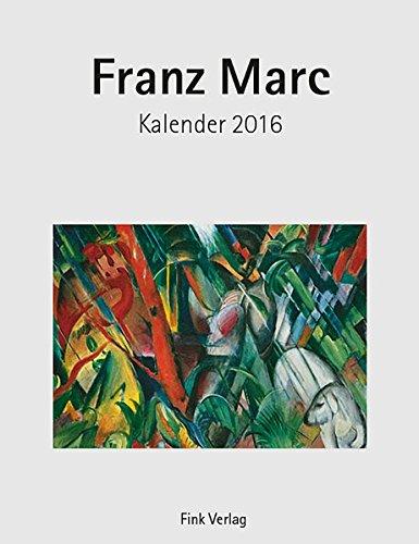 Franz Marc: Kunst-Einsteckkalender 2016