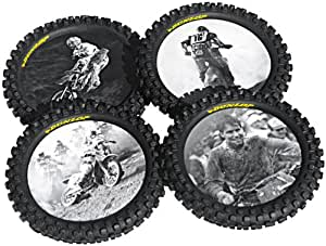 Smooth Industries Knobby Tire Drink Coasters 1821-100