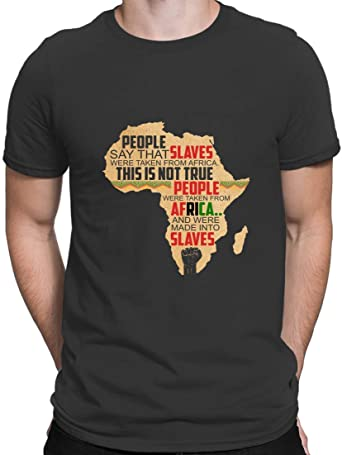 Camisetas negras para hombre de la historia afroamericana ...