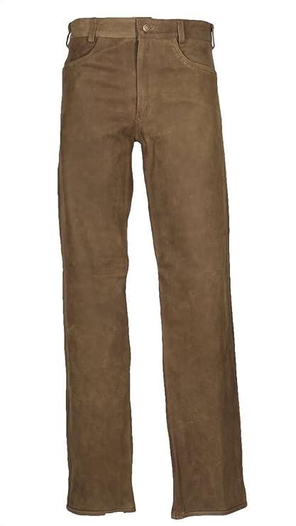 HUBERTUS – Pantalones de Caza Mujer Piel Mod. Wolfcraft lreh Talla 42