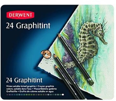Derwent Graphitint Pencils (Set of 24) 1 pcs sku# 1832865MA by Derwent