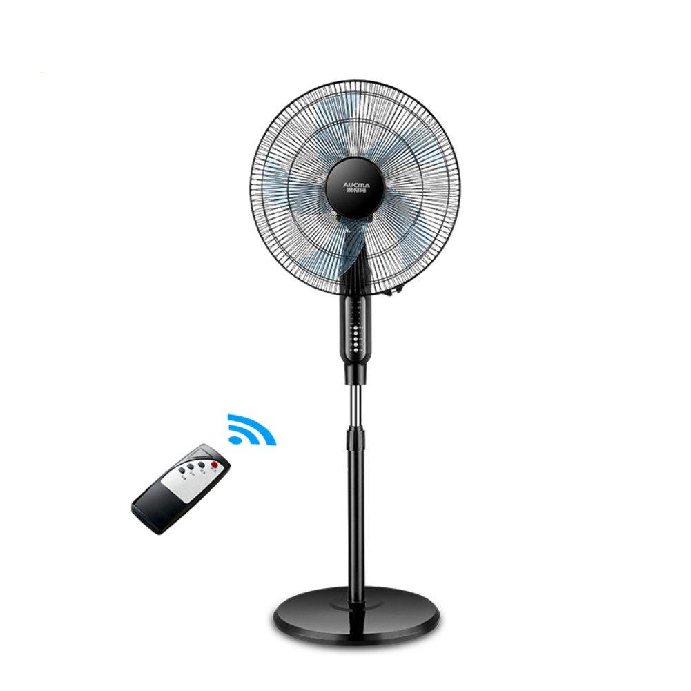 Cooler Einstellbare standventilator,Oszillierender standventilator Stock-Fan Luftkühler 3 geschwindigkeiten und Flüsterleise Kühlung Ihres Zimmers -Schwarz 40x135cm(16x53inch)