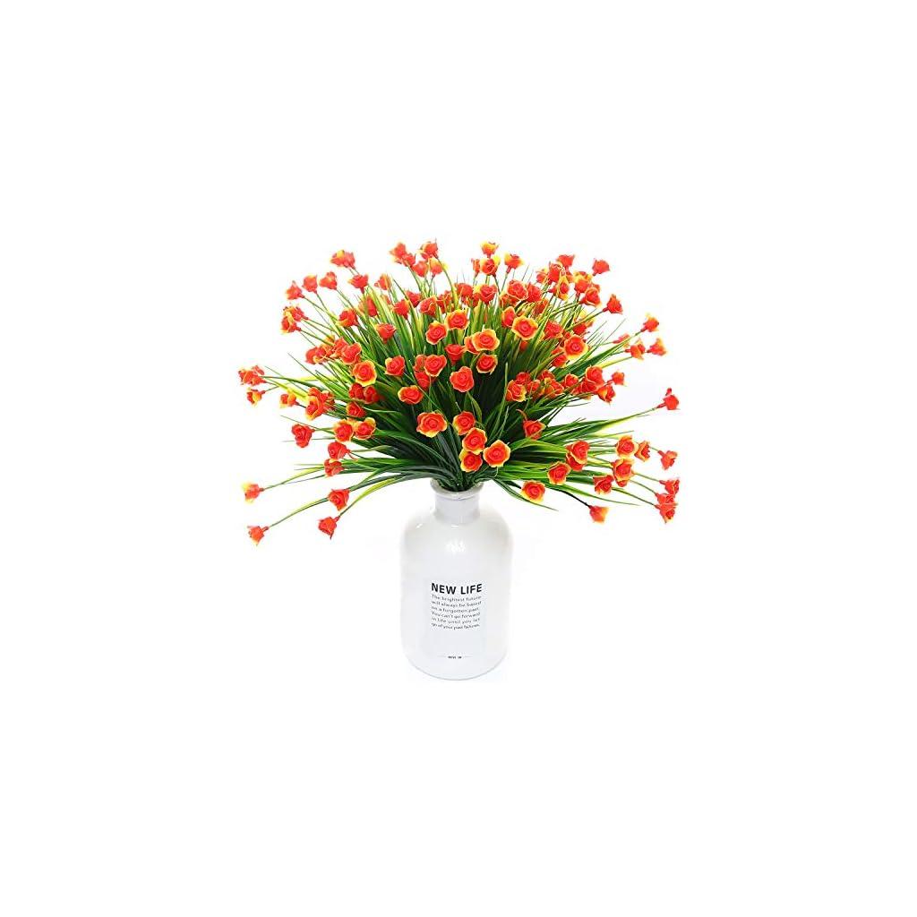 Well-Love-Artificial-Fake-Flower-6-Bundles-Home-Greenery-Shrubs-Party-Bushes-Plants-Wedding-Decor-Indoor-Outside-UV-Resistant-Hanging-Planter-Home-Garden-Decor-Mini-Rose-Gift-Set