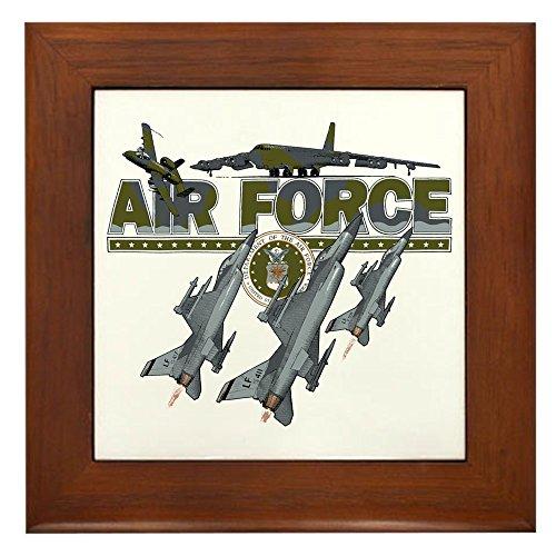 Framed Tile US Air Force Planes Fighter Jets