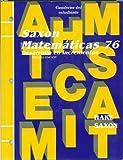 Math 76, SAXON PUBLISHERS, 1565773160