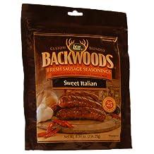 LEM Products 9008 Backwoods Sweet Italian Fresh Sausage Seasoning, 8.34 oz