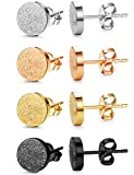 Best  - Jstyle 4 Pairs Stainless Steel Stud Earrings Review