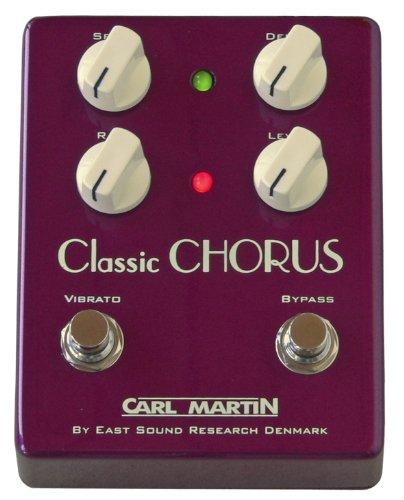 Carl Martin Vintage Series CLSCHR Classic Guitar Chorus Effect Pedal