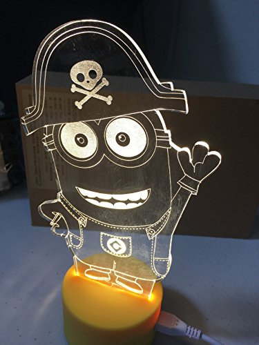 Pirate Led Night Light in US - 6