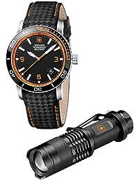 Men's Watch/LED Flashlight Set