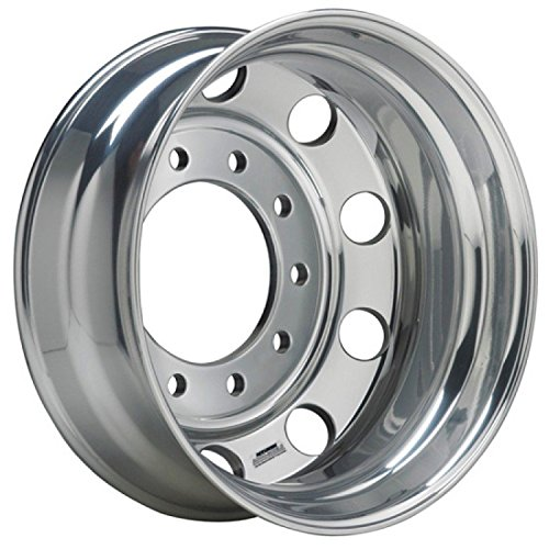 Accuride 24.5'' x 8.25'' Accu-Shield 10 Lug Alum Polished Both Sides Wheel (41362XPC) by Accuride (Image #1)