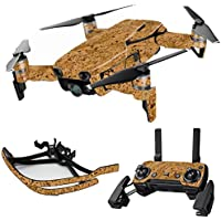 MightySkins Skin for DJI Mavic Air Drone - Cork | Max Combo Protective, Durable, and Unique Vinyl Decal wrap cover | Easy To Apply, Remove, and Change Styles | Made in the USA