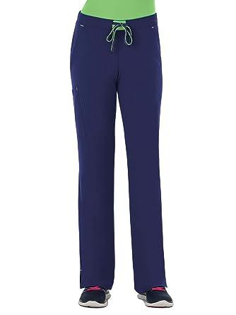 416dcbaa4b5 Jockey Modern Fit Collection Women's Convertible Drawstring Scrub Pant XX- Small Tall New Navy