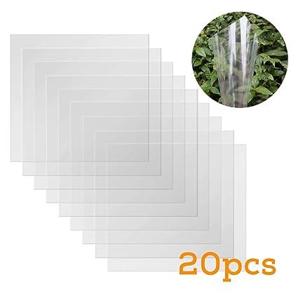 Amazon.com: 20 hojas de Mylar en blanco de 4 mil de BAISDY ...