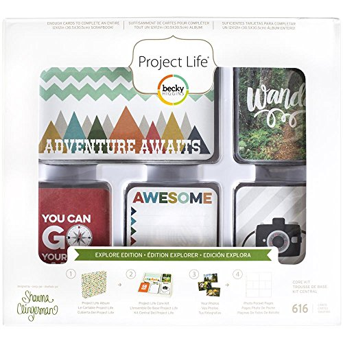 Project Life Core Kit - Explore Edition by American Crafts