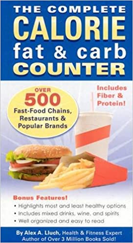 the complete calorie fat carb counter paperback common