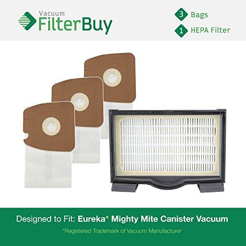 Eureka Mighty Mite Canister Vacuum Kit, 1 HF8  HEPA Filter