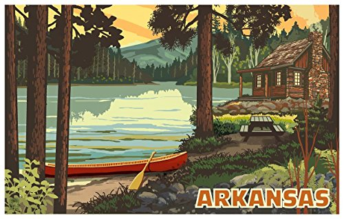 Arkansas Travel Art Print Poster by Paul A. Lanquist (12
