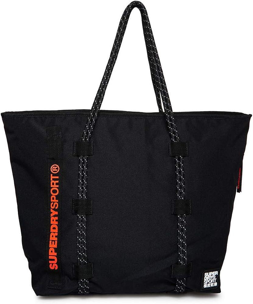 Superdry Bag Tote Black Woman