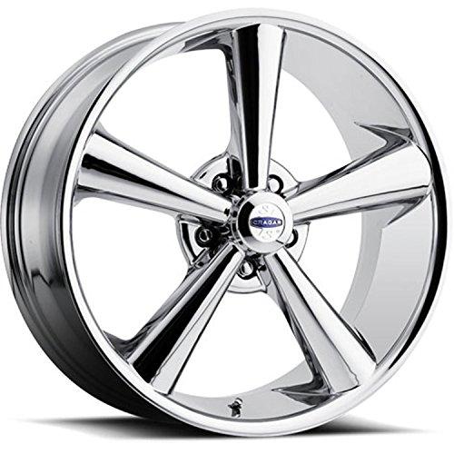 Cragar 614C8802453 Modern Muscle 614 Series Chrome Wheel Size: 18 x 8 Bolt Circl ()