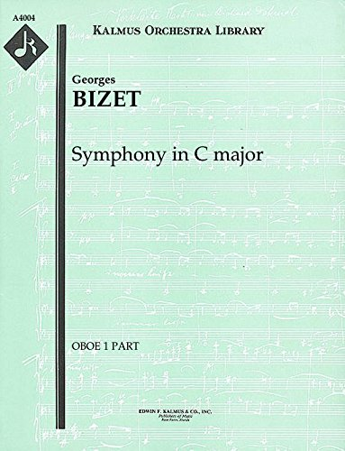 Symphony in C major: Oboe 1 and 2 parts [A4004]