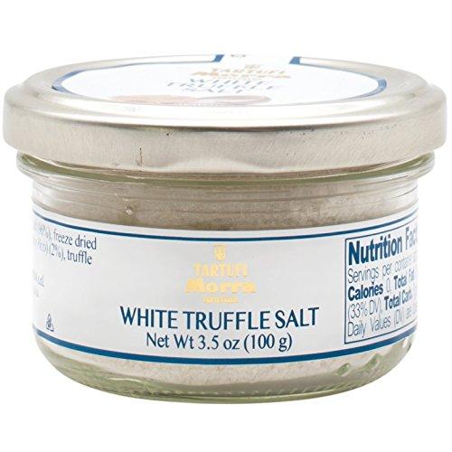 TARTUFALBA Italian White Truffle Salt - Tartufi MORRA from Alba - Sale di Tartufo Bianco - 3.5 oz - 100G by Tartufi Morra - Tartufalba