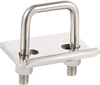 BOYISEN Hitch Tightener Heavy Duty Anti-Rattle Stabilizer 304 Heavy Duty Stainless Steel Clamp for 1.25 and 2 inch Hitches Reduce Shaking from Hitch Tray Bike Rack Trailer Ball Mount Rust Free