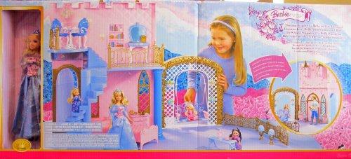 - BARBIE Sleeping Beauty ROYAL CASTLE & Doll Playset & MORE! (2006 Multi-Lingual Box)