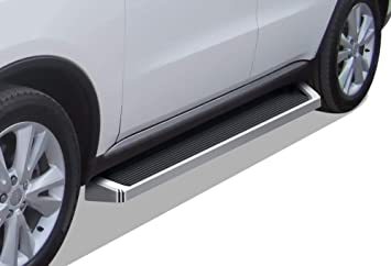 Compatible with 2011-2020 Dodge Durango Sport Utility 4-Door Black Powder Coated 4 inches APS iBoard Running Boards Nerf Bars Side Steps Step Bars