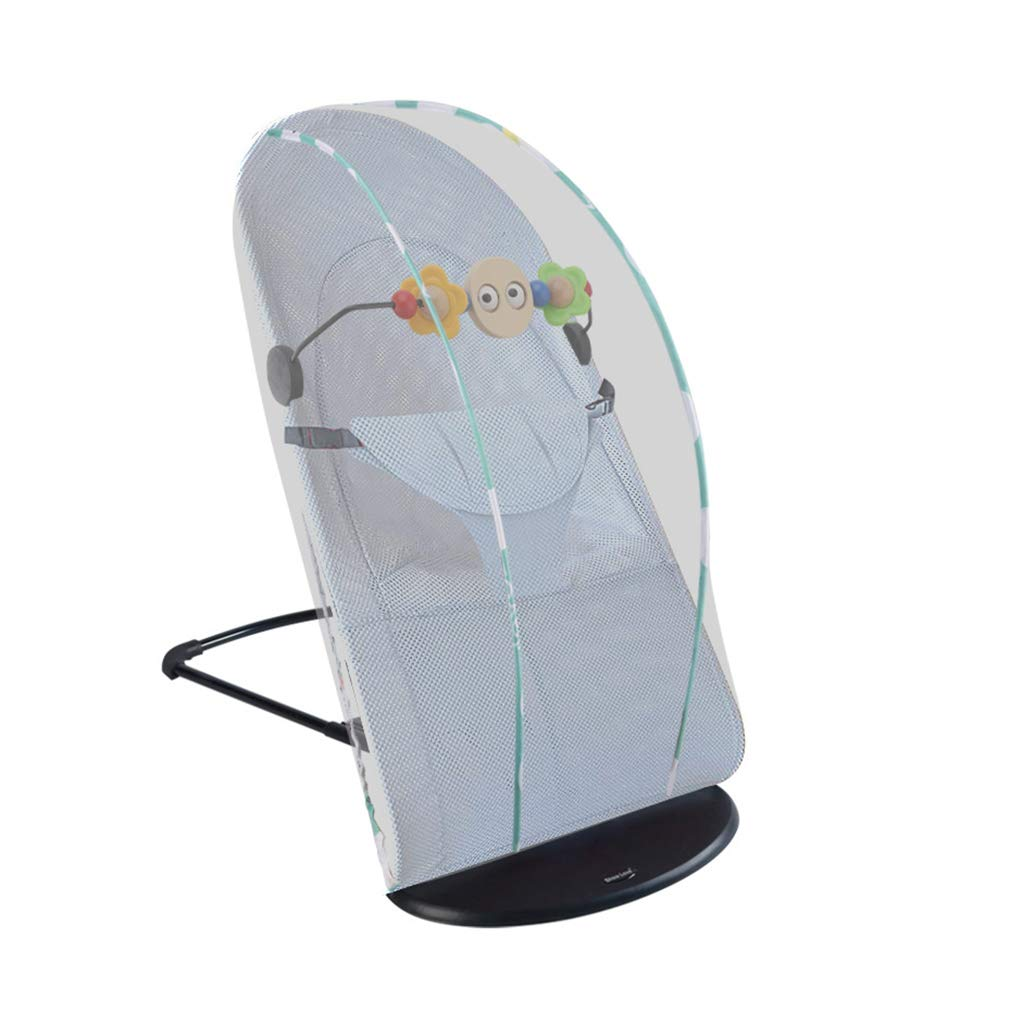 Bouncer Balance Soft, Baby Chair The Children's Bouncing Cradle (3 colors, Mesh) (Color : B)