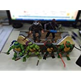 O! My Pillow 2016 New toys 6Pcs Teenage Mutant Ninja Turtles TMNT Action Figures Toy Set Classic Collection Model for the boys