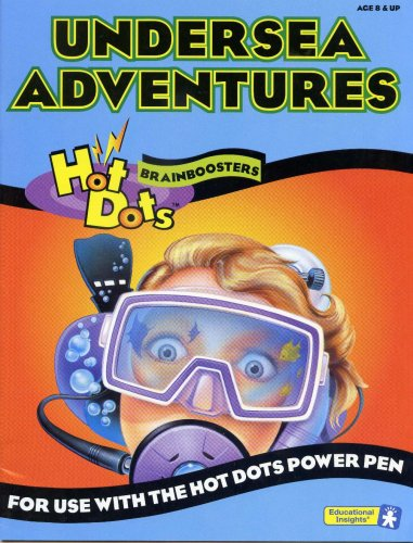 Undersea Adventures for Use with the Hot Dots Power Pen (Hot Dots Brainboosters)