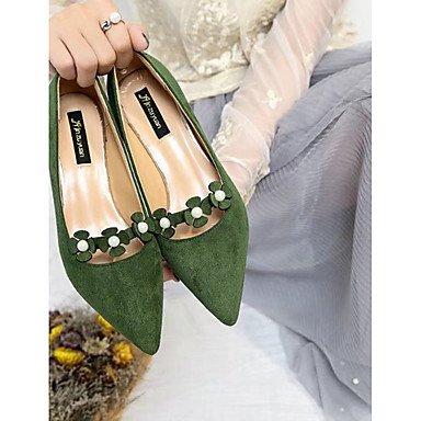 EU36 Heelblack Flip De Mujer UK4 Blanco Zapatillas Confort RTRY Pu CN36 Casual Verano Flops Caminar amp;Amp; US6 Chunky PqIWZ
