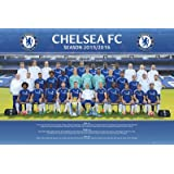 Chelsea FC Official Football Gift Squad Poster - A Great Christmas / Birthday Gift Idea For Men And Boys
