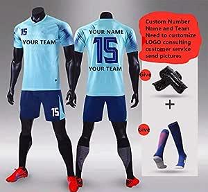 Zhijiagelily - Camiseta de fútbol con diseño de Equipo de fútbol ...