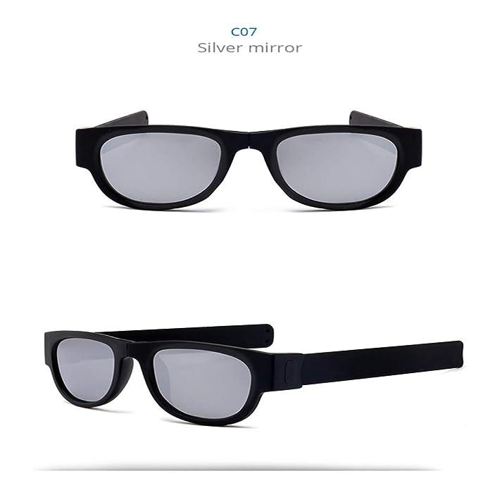 Wang-RX Gafas de sol polarizadas de resina Mujeres Slap ...