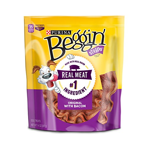 Purina Beggin Strips Bacon Flavor Dog Treats - 14 Oz. Pouch