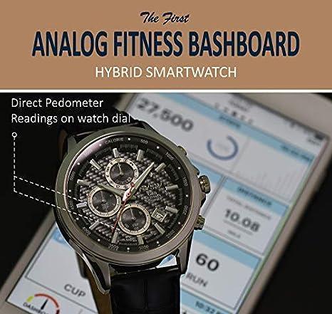 NYSW | Reloj Inteligente híbrido con Cristales de Swarovski ...