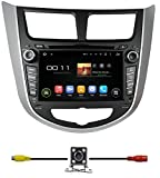 BlueLotus 7″ Android 5.1 Quad Core Car DVD GPS Navigation for Hyundai Accent 2012 2013 2014 w/Radio+RDS+Bluetooth+WIFI+SWC+AUX In +Free Backup Camera + US Map Review