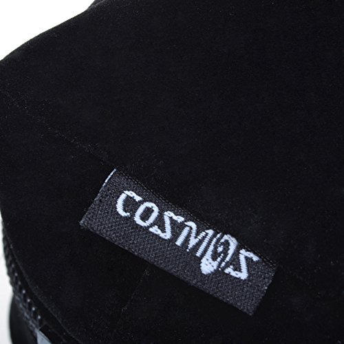 Cosmos ® Black Color Velvet Watch and Bracelet Travel Storage Roll Bag with Black Removable Tube Velvet holder Photo #4