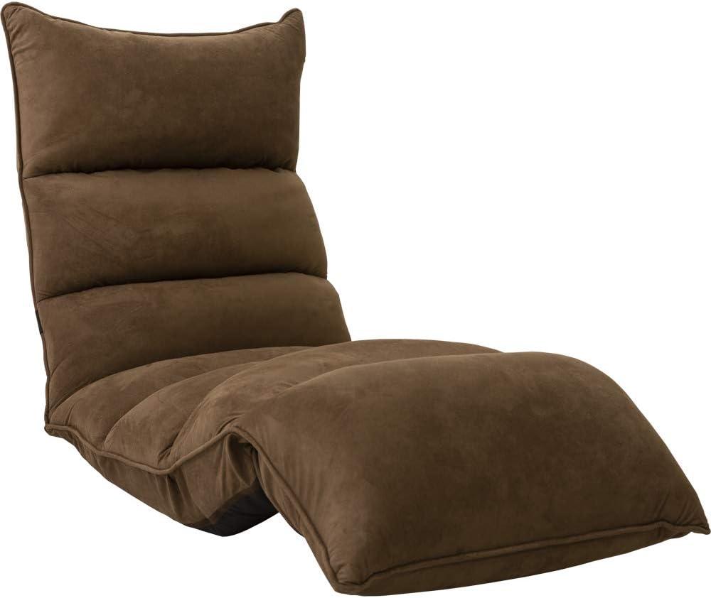 アイリスプラザ,座椅子,椅子,折り畳み式座椅子,リクライニング,茶色座椅子,背もたれ