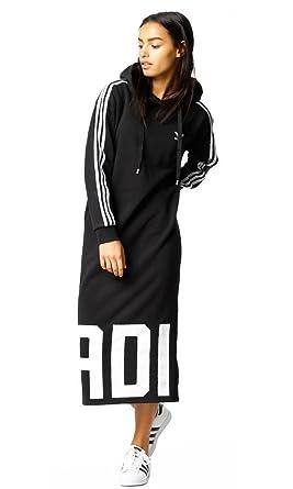 buy online 129a0 74c1a ... closeout adidas women originals womens bold age hoodie dress cy7481  6570a 8153c