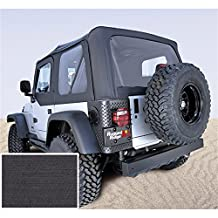 Rugged Ridge 13725.15 Denim Black Soft Top for Jeep Wrangler TJ 1997-2002