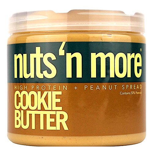 Nuts N More Peanut Butter, Cookie Butter, 16 Ounce