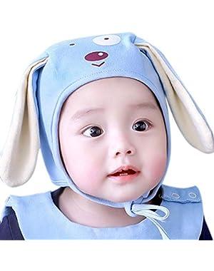 Unisex Baby Cute Long Ear Cartoon Puppy Hat