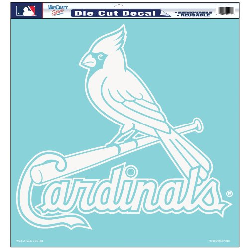 MLB St. Louis Cardinals 18-by-18 inch Die Cut Decal